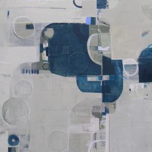 "COLTER1-Flights of Wonder36"" x 36"" work on canvas/panel"