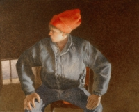 Greg Mort - GMort_Man_With_the_Red_Hat_Self_Portrait_06