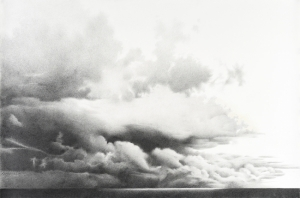 There Will Always Be Storms 26 x 40 graphite